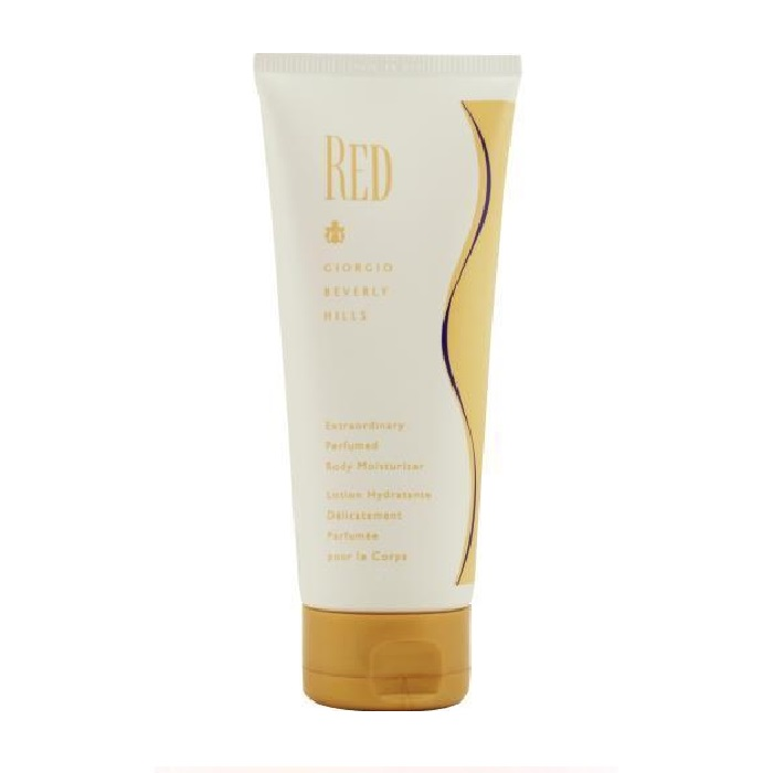 Red Body Lotion by Giorgio Beverly Hills 6.7oz for Women